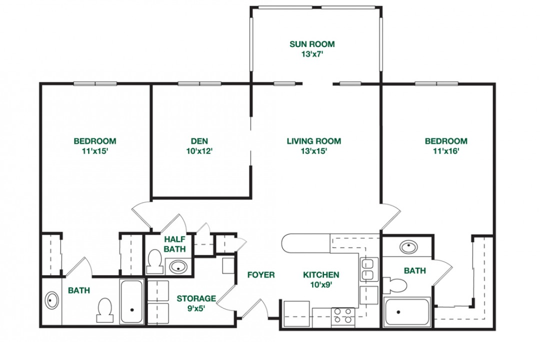 Interior Decoration For 1rk together with  likewise Living Bentley together with Open 1 Bed1 Bath in addition Hdbfloorplans. on two apartments floor plan