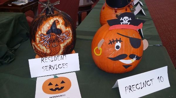 Resident Services / Precinct 10 Pumpkin