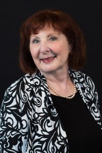A headshot of Patricia Mandell